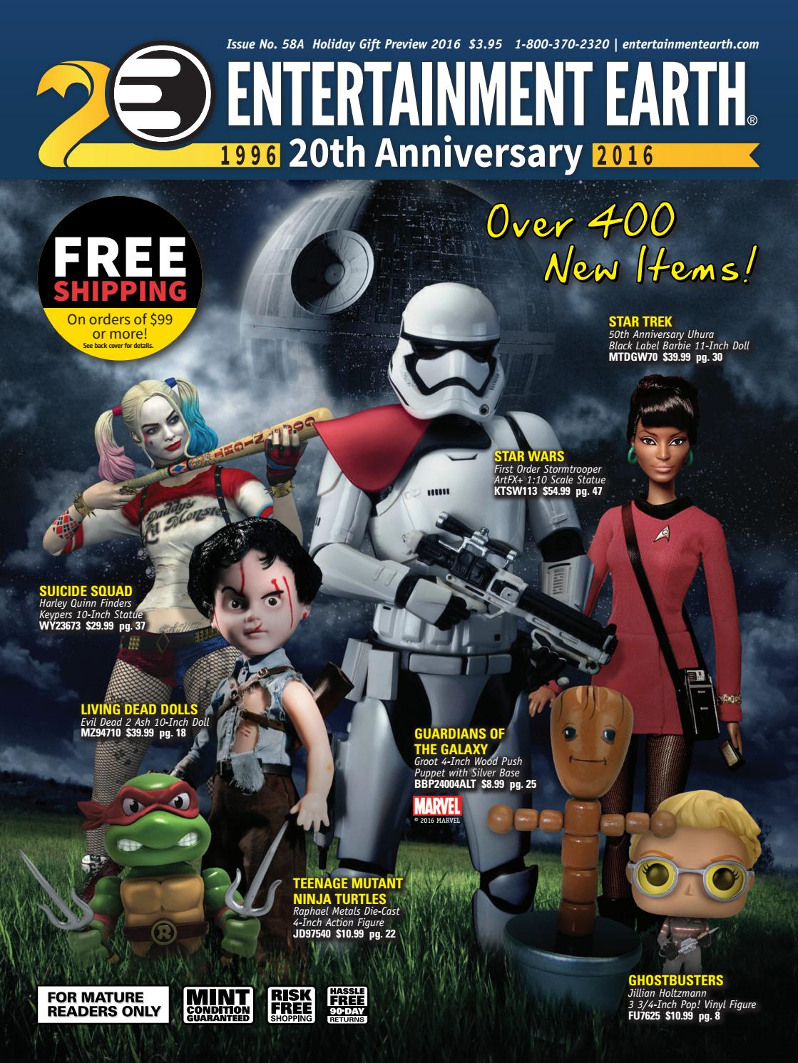 33f3a126 Entertainment Earth Holiday Gift Preview 2016 Catalog by Entertainment  Earth - issuu