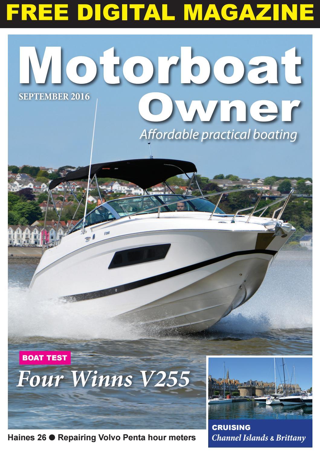 Motorboat Owner September 2016 By Digital Marine Media Ltd Issuu Sea Ray Boat Wiring Diagram Inverter