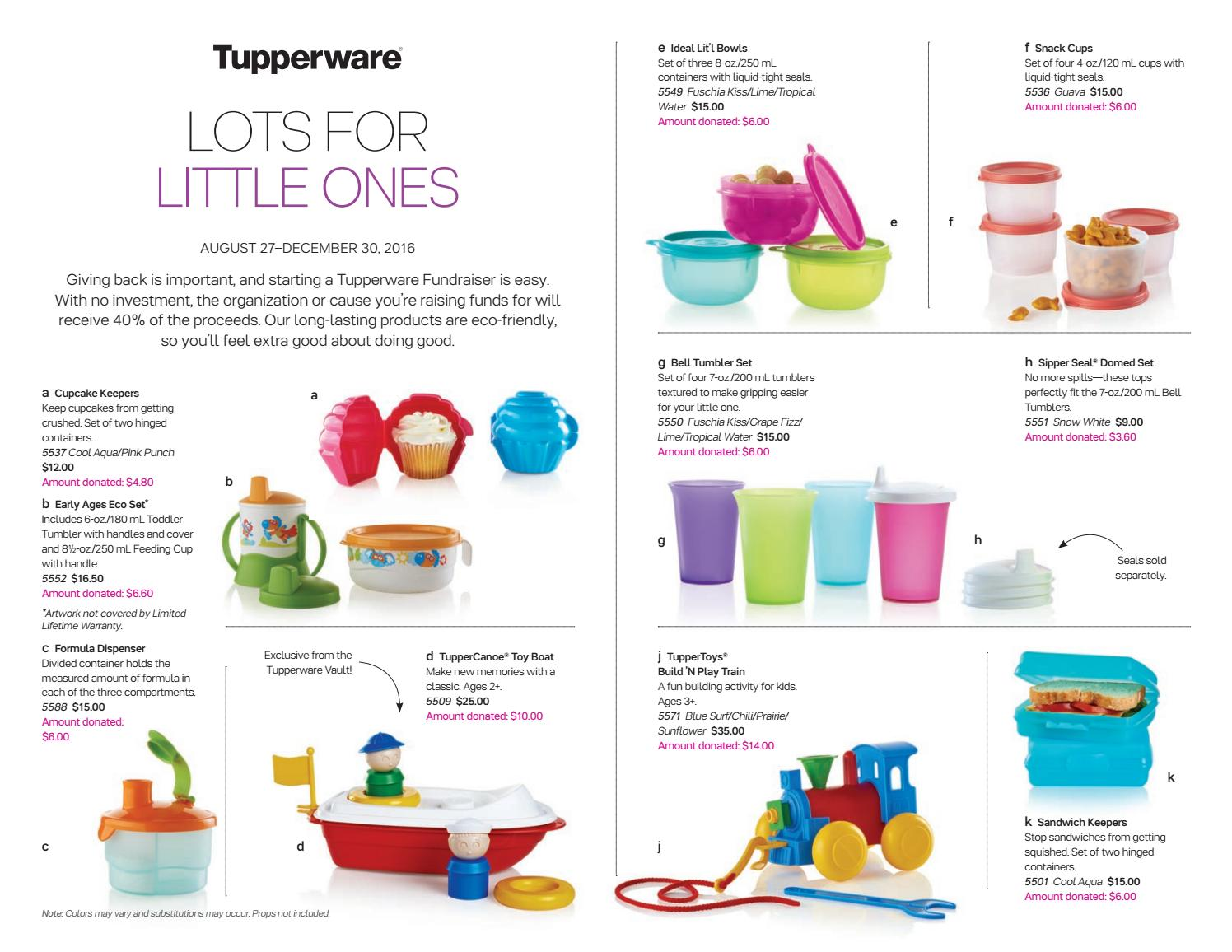 Fall fundraiser 2016 kids us by Tupperware Tracey for Gold