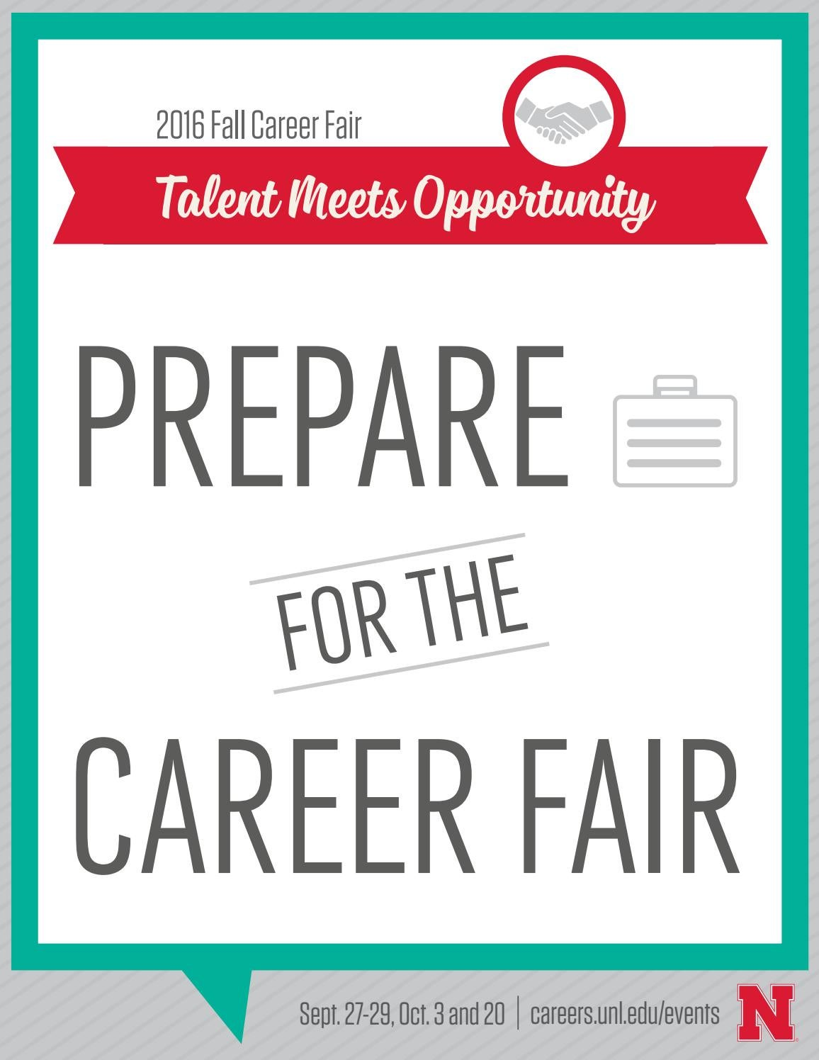 2016 fall career fairs career services university of nebraska student information