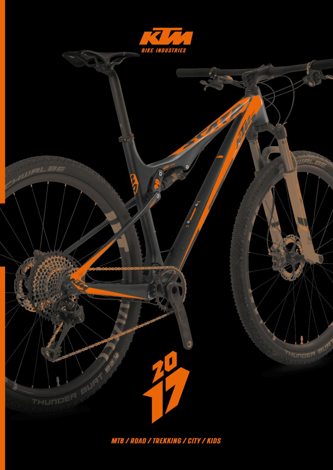 Ktm Catalogue 2017 By Ktm Bike Industries Issuu