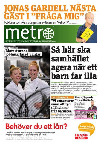 20160826 se stockholm by Metro Sweden - issuu 1ceadbeeaf60b
