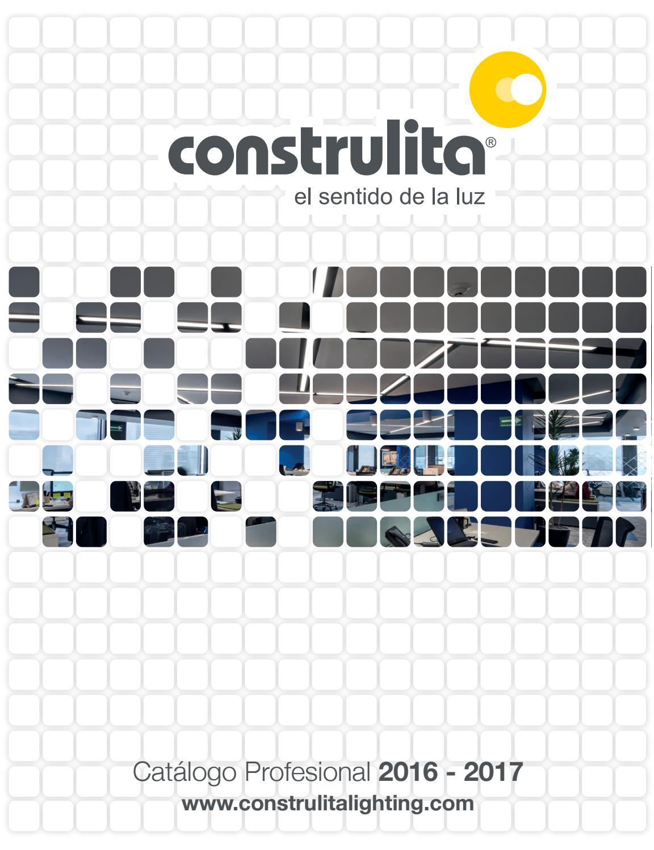 Catalogo construlita profesional 2016 17 by construlita - Catalogo de luminarias para interiores ...