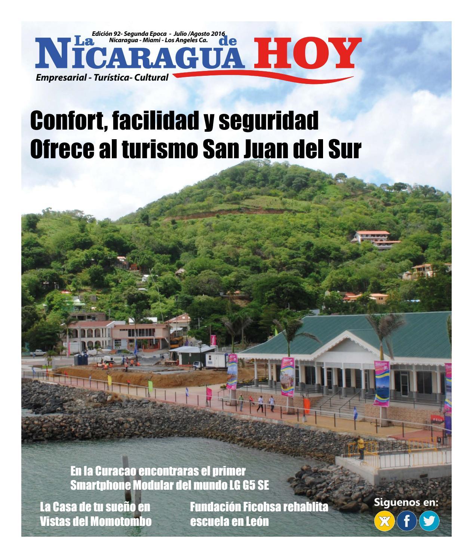 Revista La Nicaragua de Hoy Edición No. 92 by La Nicaragua de Hoy ...
