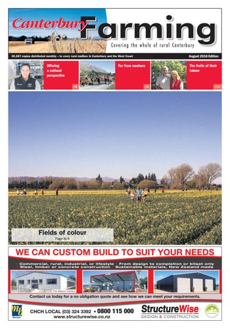Canterbury Farming, August 2016 by Integrity Community Media