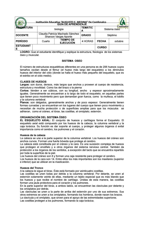Guia biologia septimo oseo by eliecer - issuu
