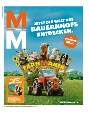 Migros Magazin 35 2016 D Vs