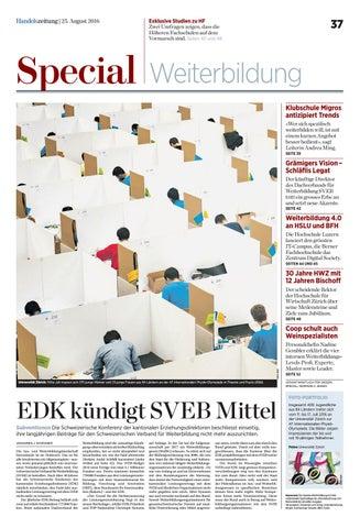 HZ Special «Weiterbildung» by Ringier Axel Springer Schweiz AG - issuu