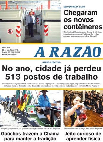 305ea8534b Jornal A Razão 26 08 2016 by Jornal A Razão - issuu