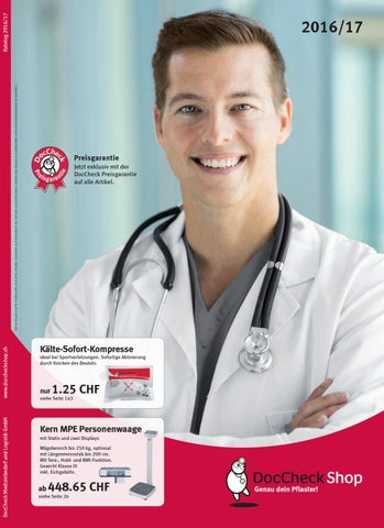DocCheck Katalog 2016/2017 für die Schweiz by DocCheckShop - issuu