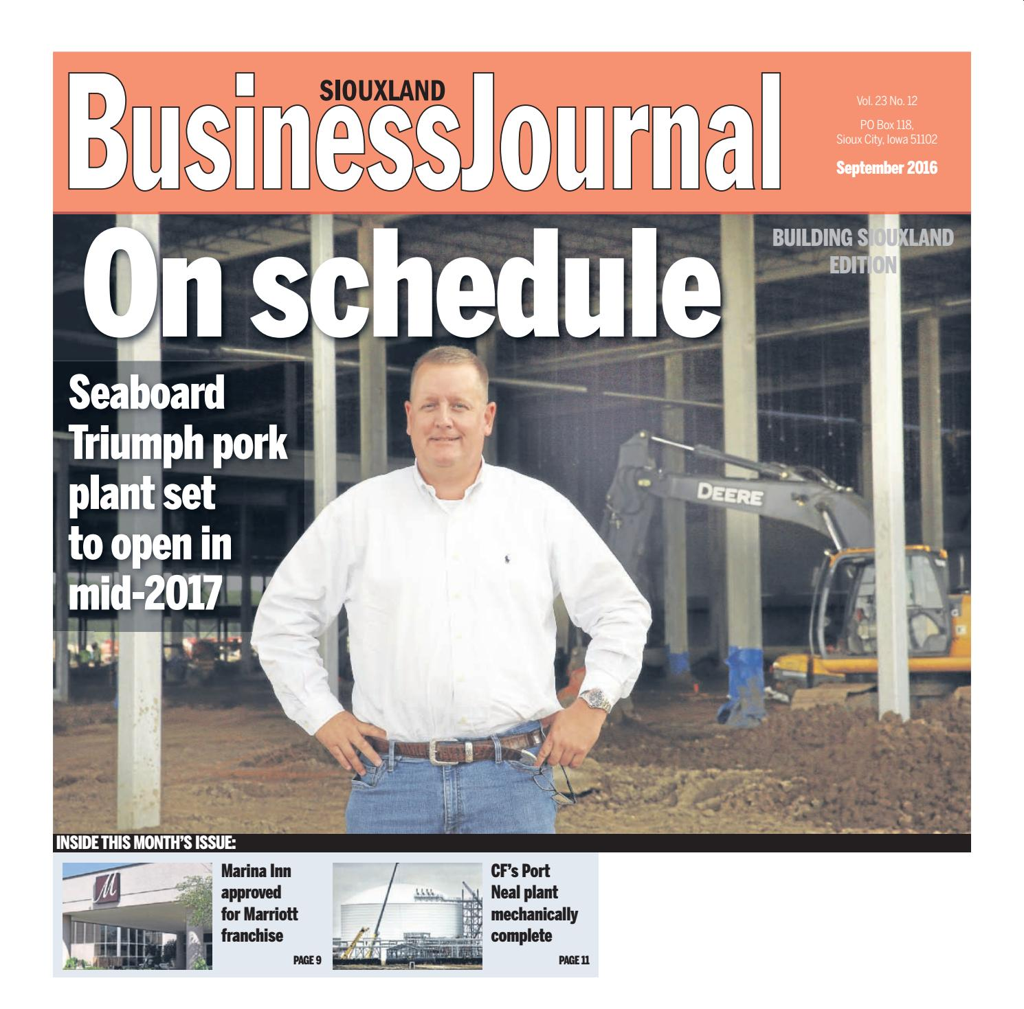siouxland business journal september 2016 by sioux city journal