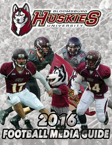 2016 Bloomsburg University Football Media Guide By Bloomsburg