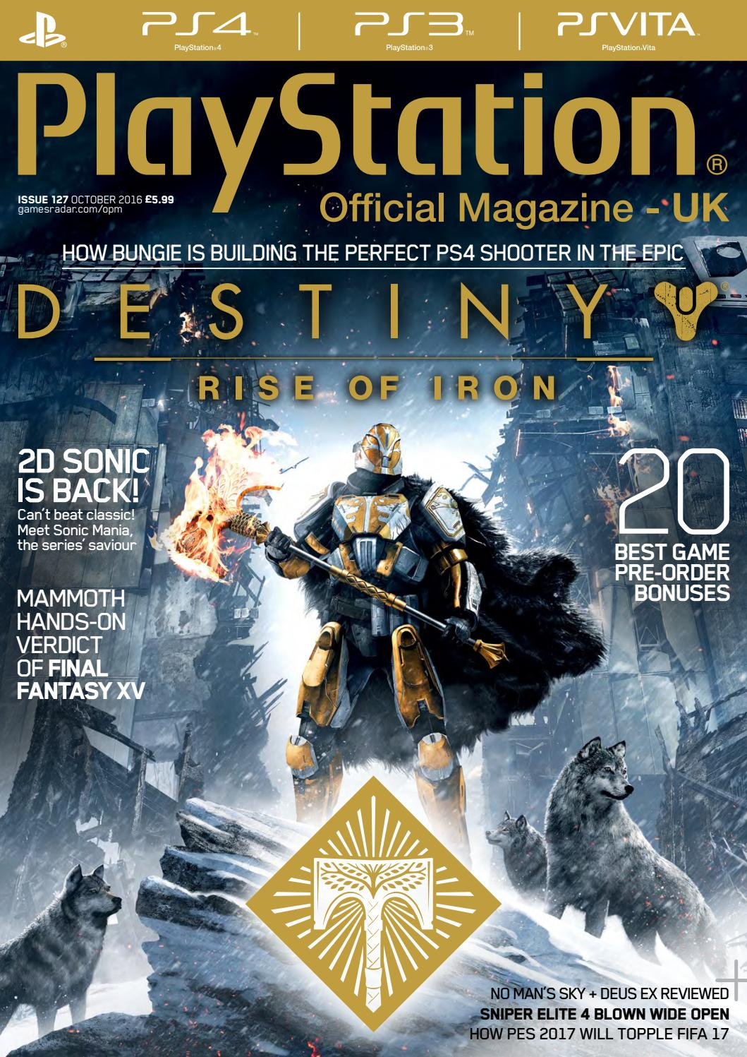 Official PlayStation Magazine 127 (Sampler) by Future PLC - issuu