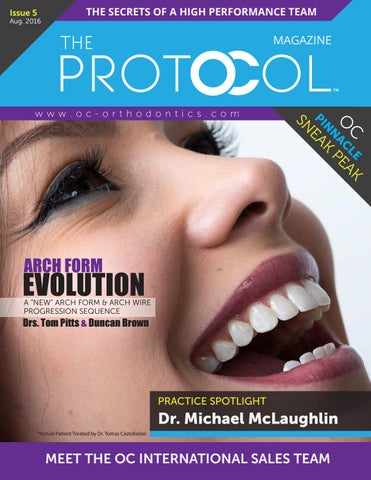 The Protocol Issue 5 by OC Orthodontics - issuu
