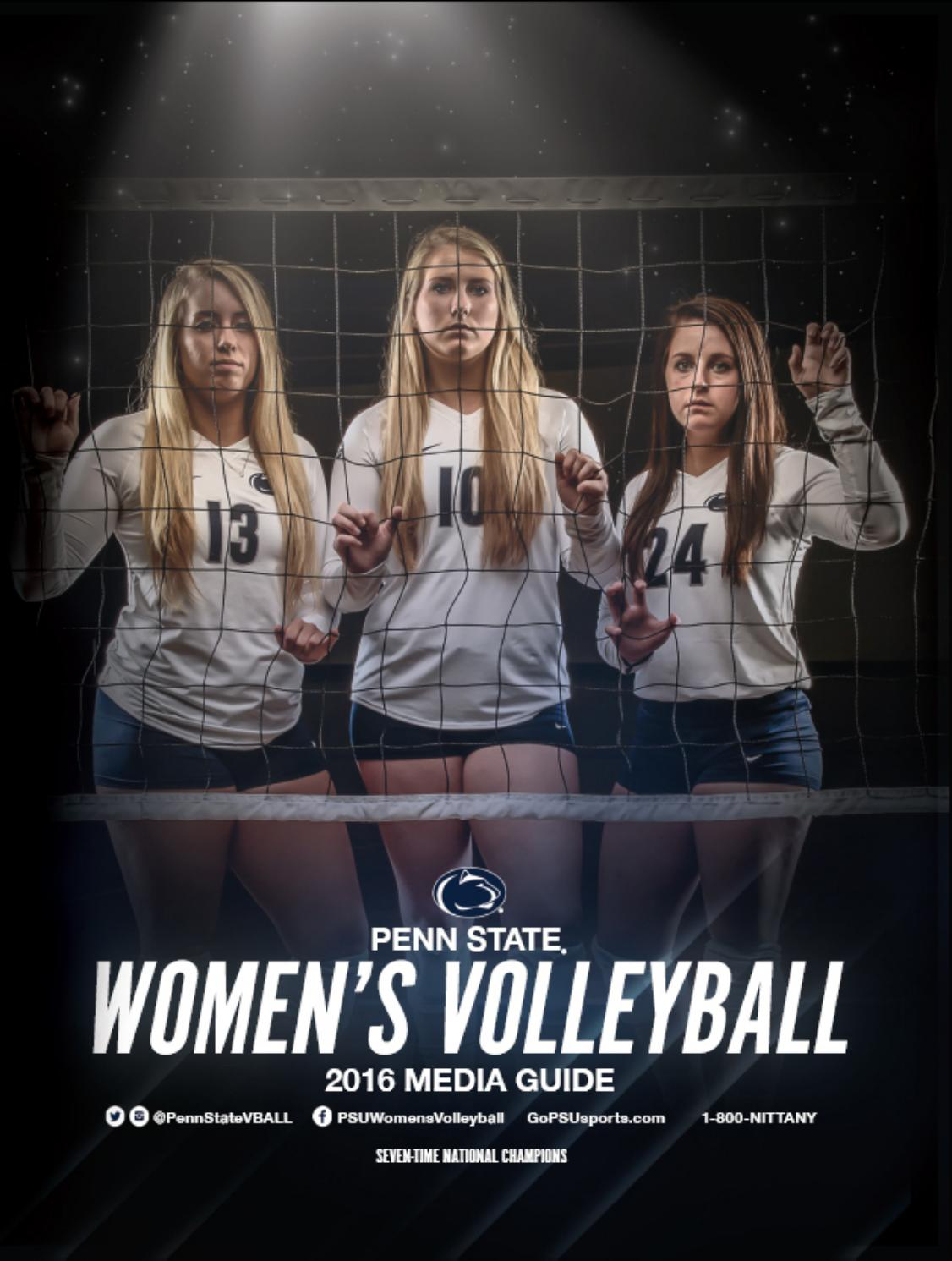2016 penn state women's volleyball media guide by penn state