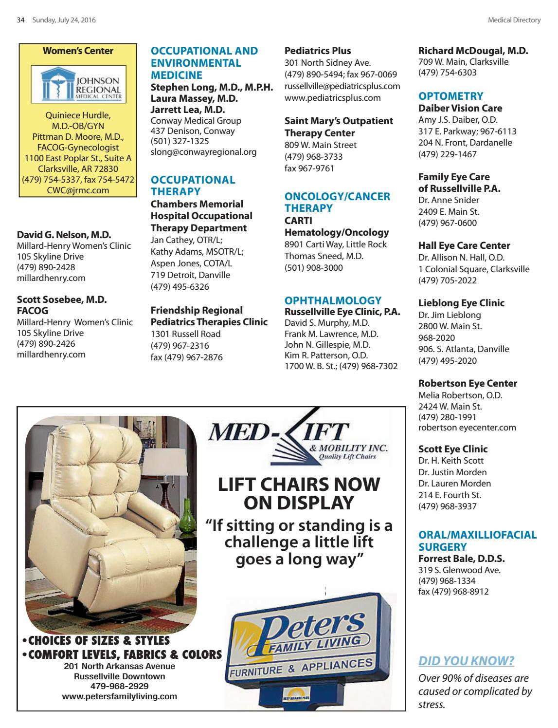 2016 Medical Directory by The Courier - issuu