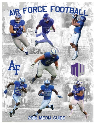 4c1895b2189e 2016 af football media guide 2 by Dave Toller - issuu