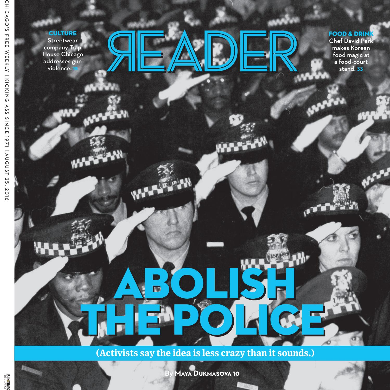 Chicago Reader print issue of August 25 2016 Volume 45 Number 46