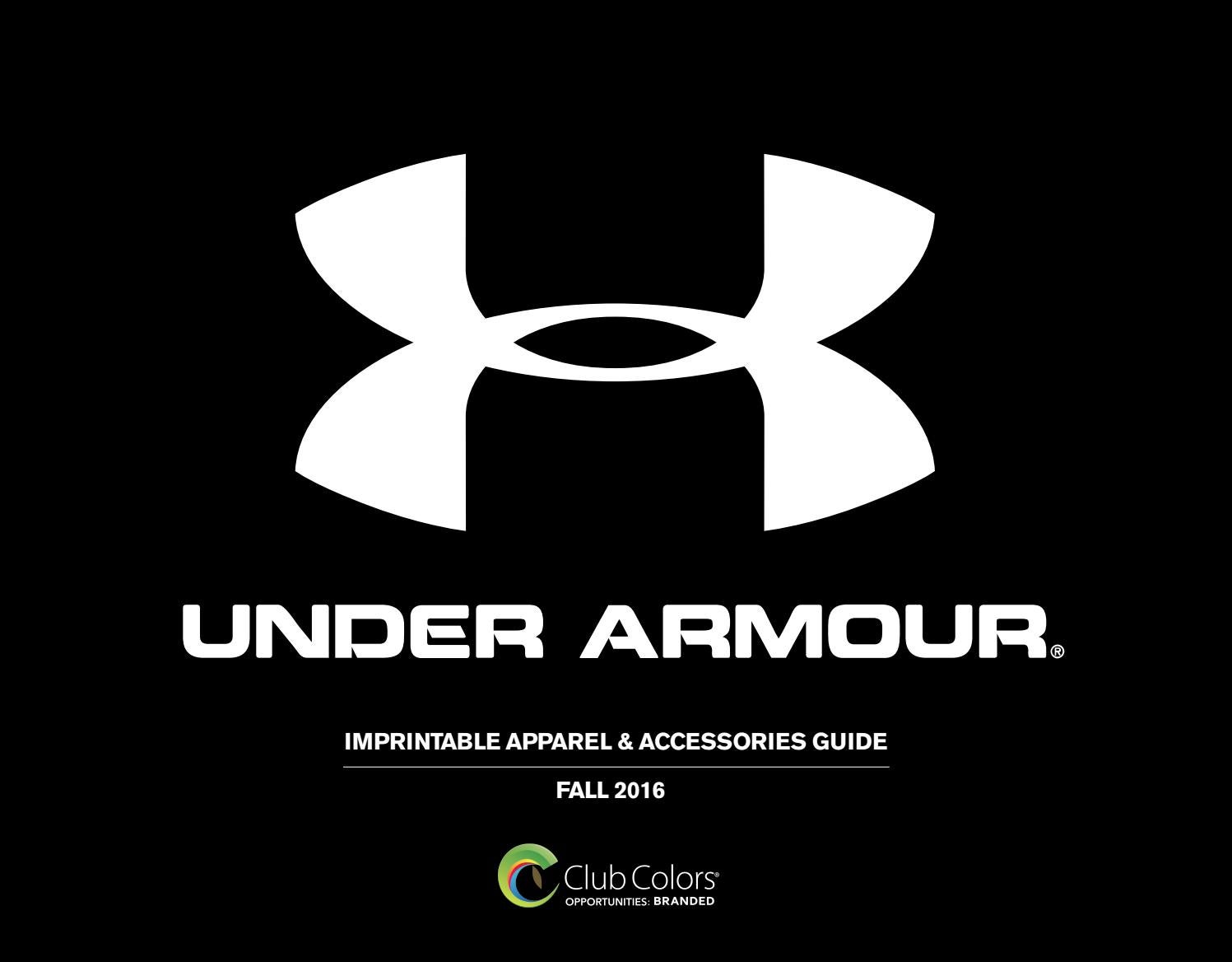 2831118fa96 Club Colors Under Armour by Club Colors - issuu