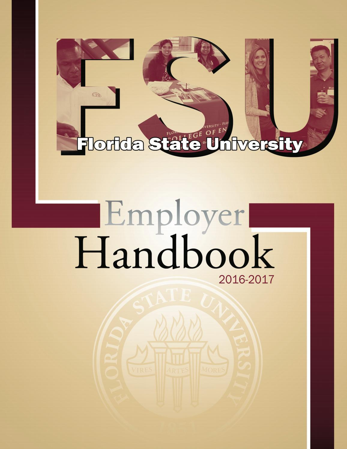 fsu employer handbook 2016