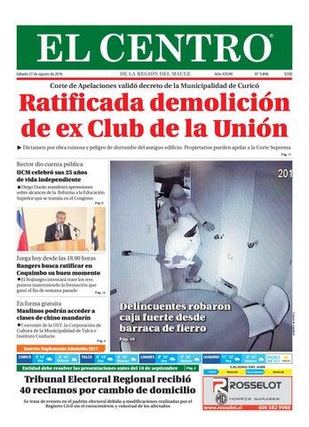 Diario 27-08-2016 by Diario El Centro S.A - issuu cf6317d15d224