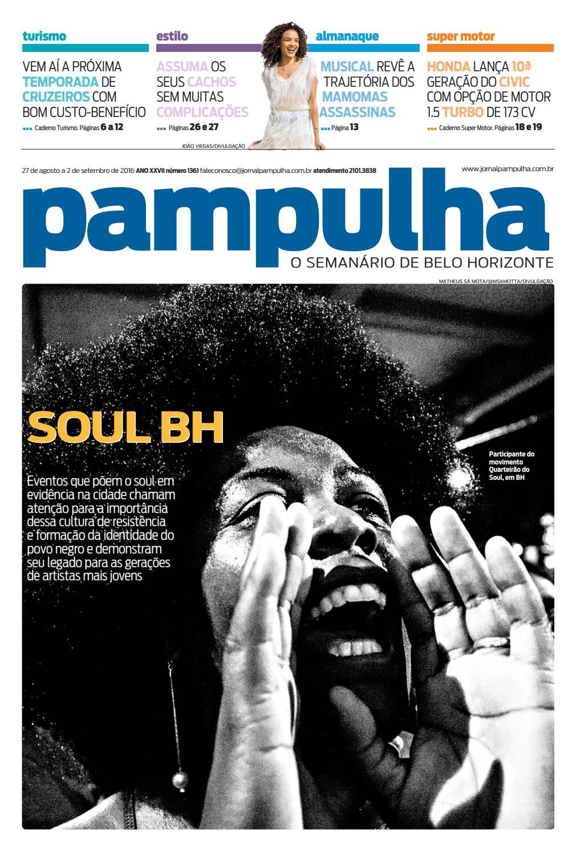 44935c0e8078 Pampulha - sábado, 27.8.2016 by Tecnologia Sempre Editora - issuu