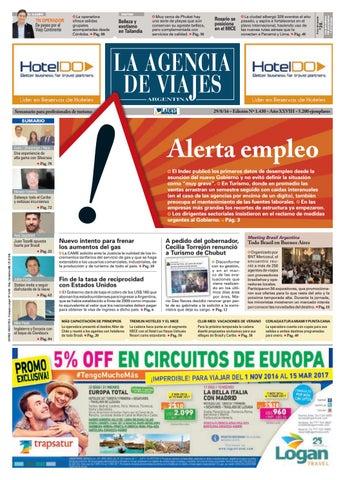 baad24dd4 La Agencia de Viajes Argentina N° 1.430 by Ladevi Media   Solutions ...