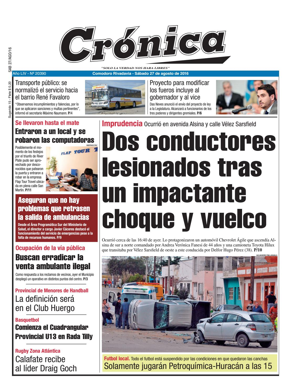 a258da6b 249264e906ee2f1c1cb573060b19f53f by Diario Crónica - issuu