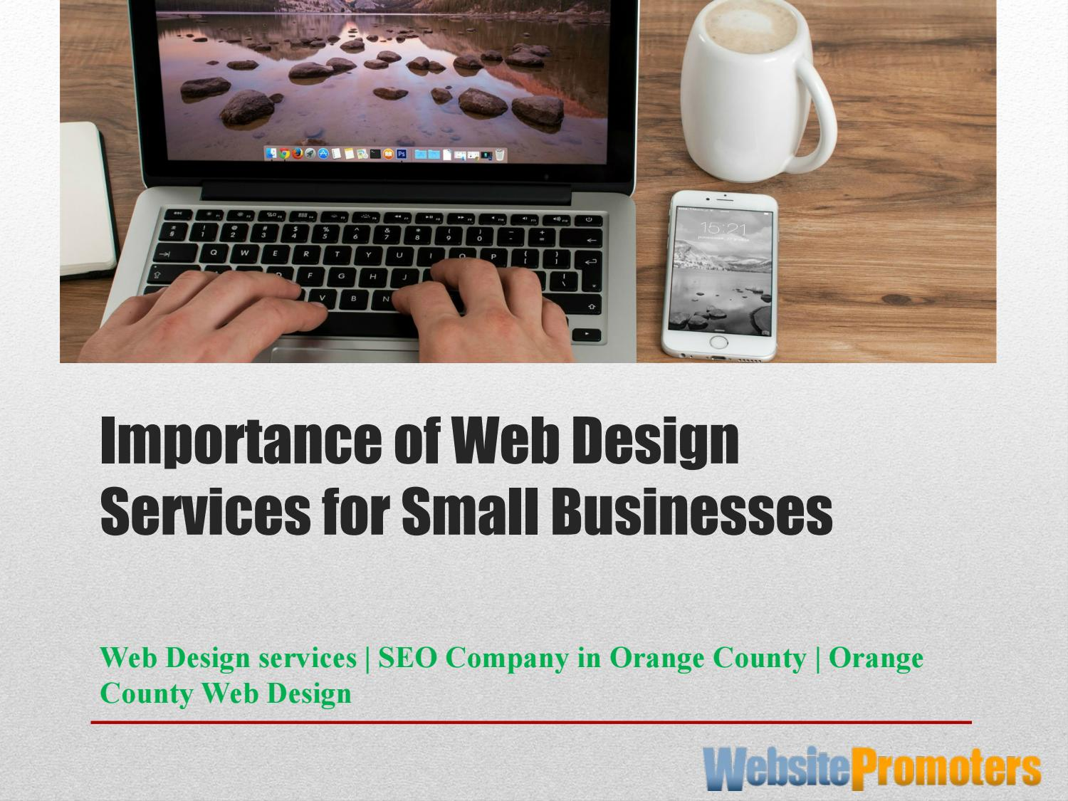 Importance Of Web Design Services By Website Promoters L L C Issuu