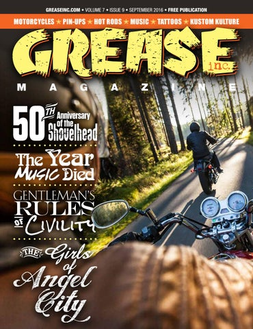 Grease Inc. September 2016 by Grease Inc. Magazine - issuu 133167130