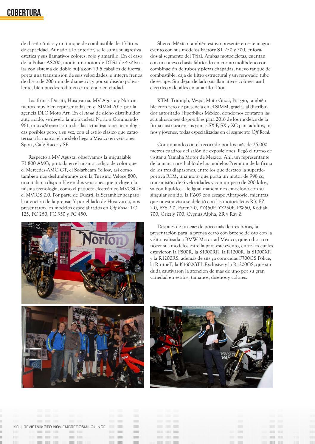 64d9614af2 Edición 148 Noviembre by Revista Moto - issuu