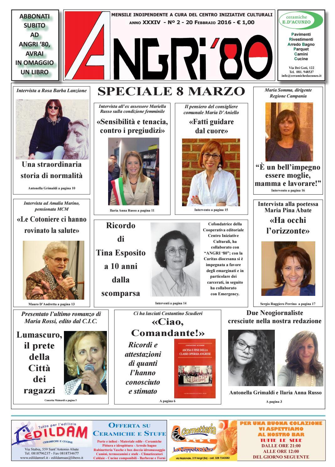 angri 80 febbraio 2016finito by lombardi antonio - issuu - Arredo Bagno Angri