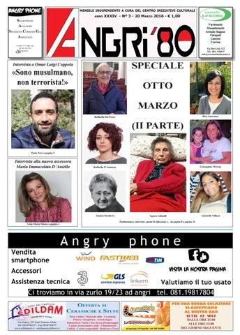 angri 80 marzo 2016 by lombardi antonio - issuu - Arredo Bagno Angri