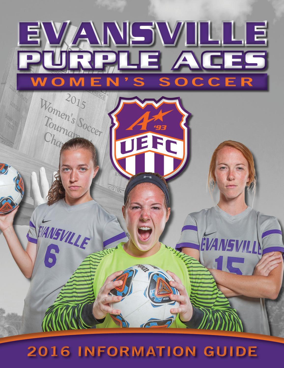 2016 evansville women u0027s soccer media guide by ue sports