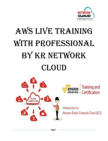 Aws live training AWS Certification Training by KR NETWORK CLOUD - issuu