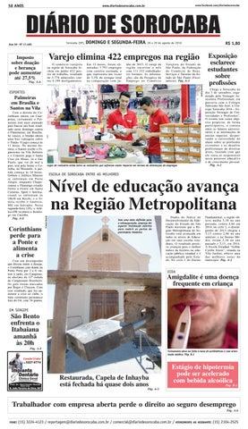 Edição de 28 de agosto de 2016 by DIÁRIO DE SOROCABA - issuu baa4e52e073c7