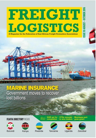 Freight logistics issue 10 by FEDERATION OF EA FREIGHT FORWARDERS