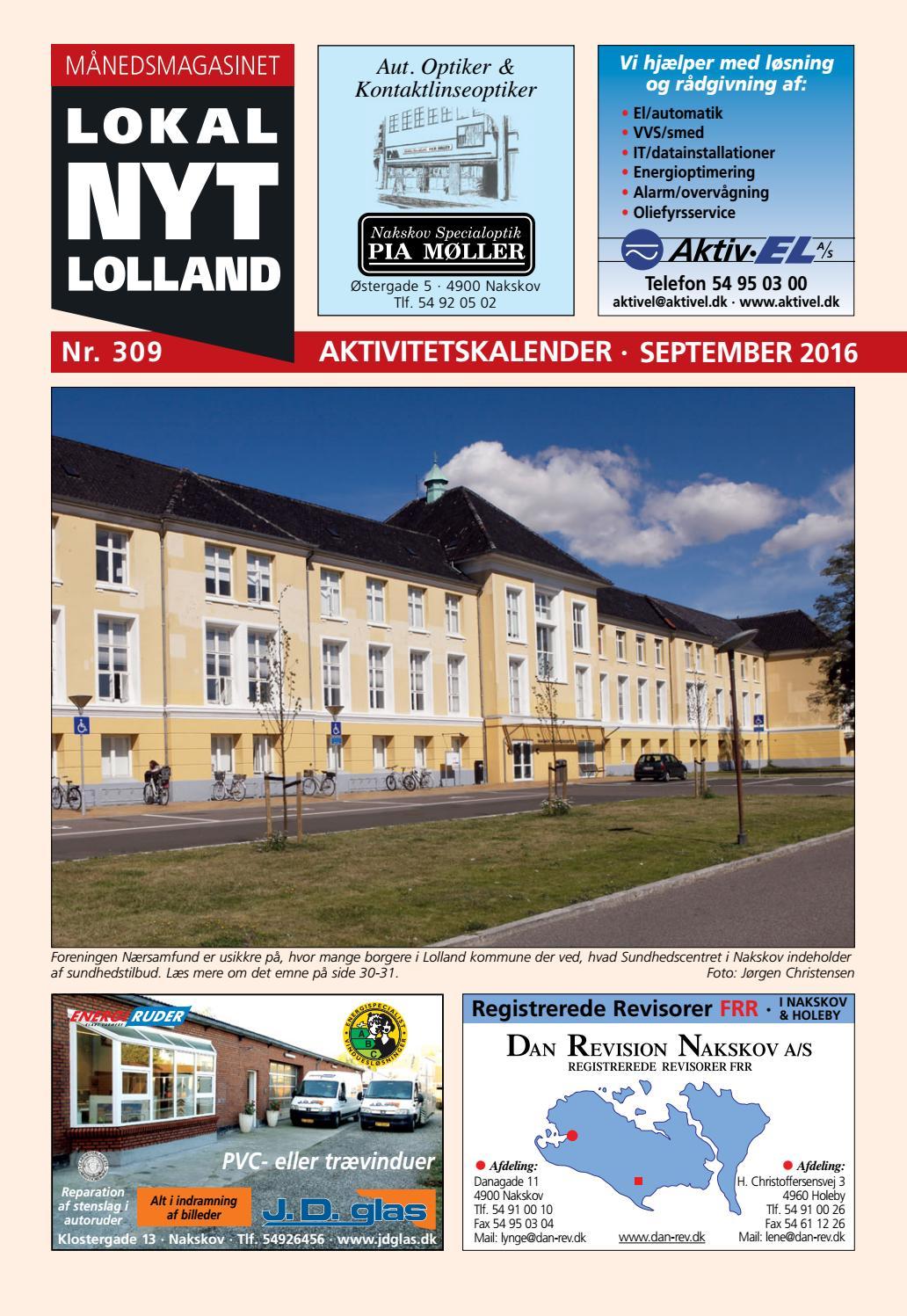 Lokal Nyt Lolland September 2016 By Trendyweb Issuu