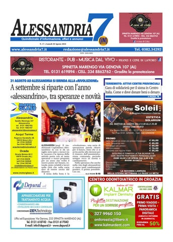 Alessandria7 n. 17 2016 by Netweek - issuu a4c83e473ff