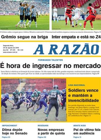 a55bba12af Jornal A Razão 29 08 2016 by Jornal A Razão - issuu
