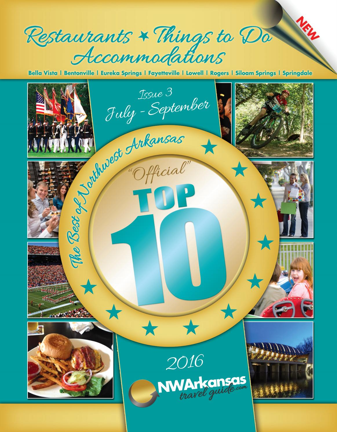 Best of NWA Top 10 Issue 3 by Best of Northwest Arkansas, Top 10 - issuu