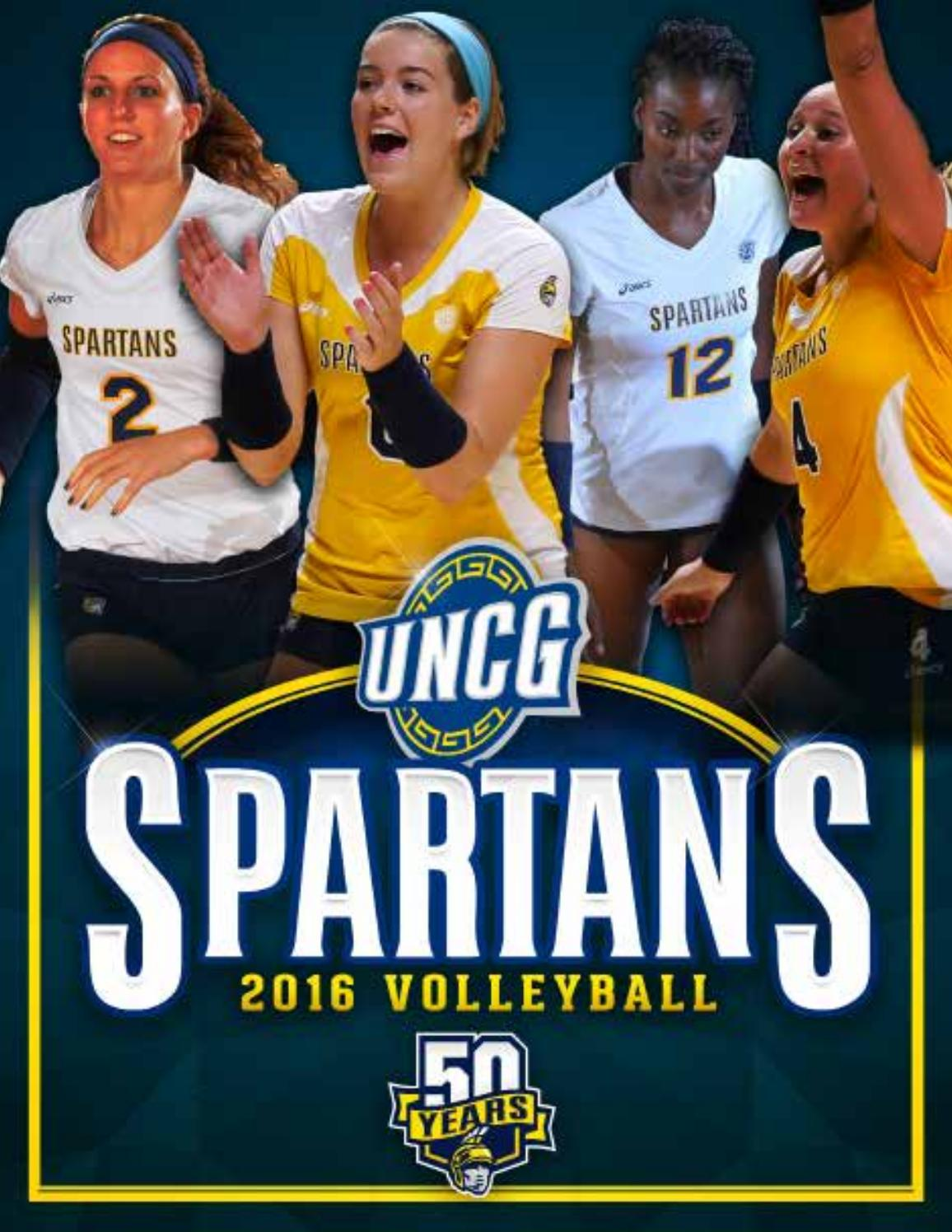 2016 Volleyball Digital Guide By Uncg Athletics Issuu