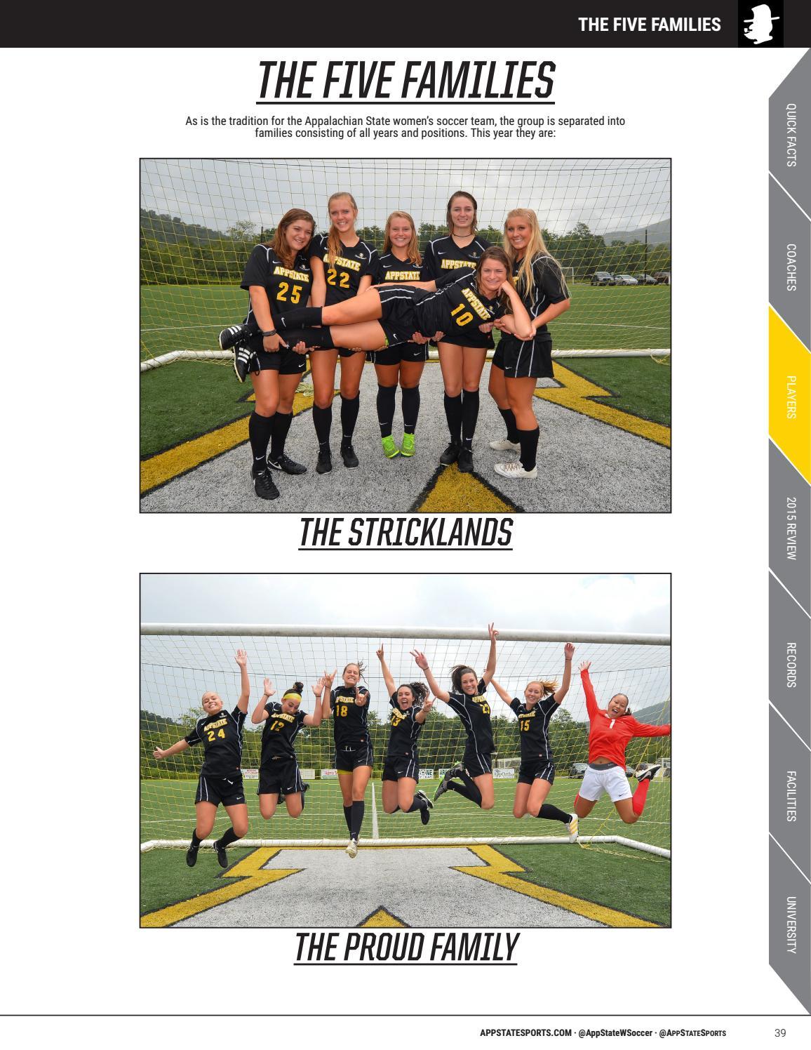 2016 Appalachian State Women S Soccer Media Guide By Appalachian State University Athletics Issuu