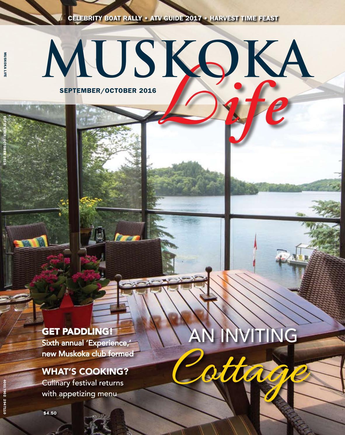 Muskoka Life Fall 2016 By Goodlife