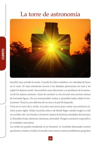 Page 28 of Cuento- La torre de astronomía