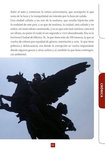 Page 63 of Crónica- Un día tan simple y cotidiano