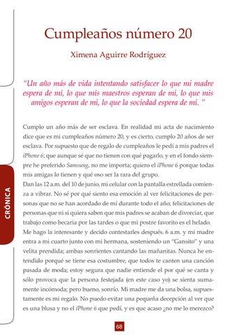 Page 68 of Crónica- Cumpleaños número 20