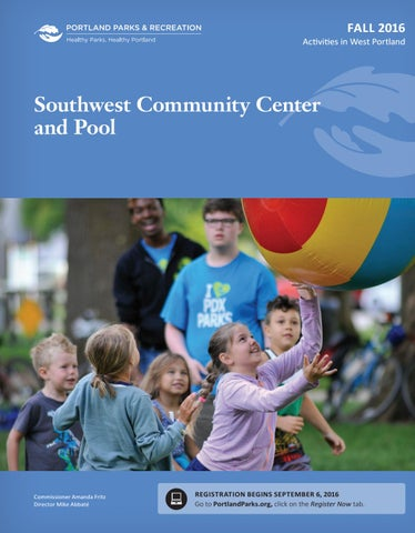 3b43d0799182 Southwest Community Center and Pool - Fall 2016 by Portland Parks ...