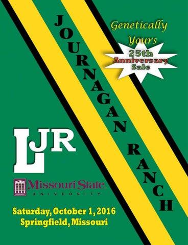 Journagan Ranch/Missouri State University Annual Production
