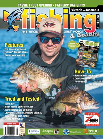 da6615a65e Victoria and Tasmania Fishing Monthly - August 2016 by Fishing ...